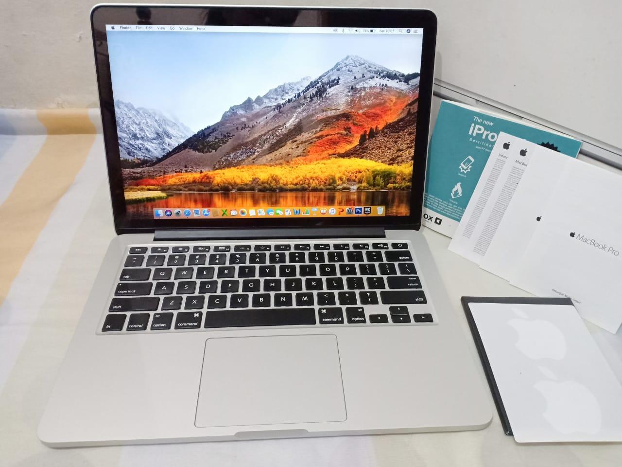MacBook Pro Retina 1 1 MF1 intel core i1 RAM 1GB SSD 121GB