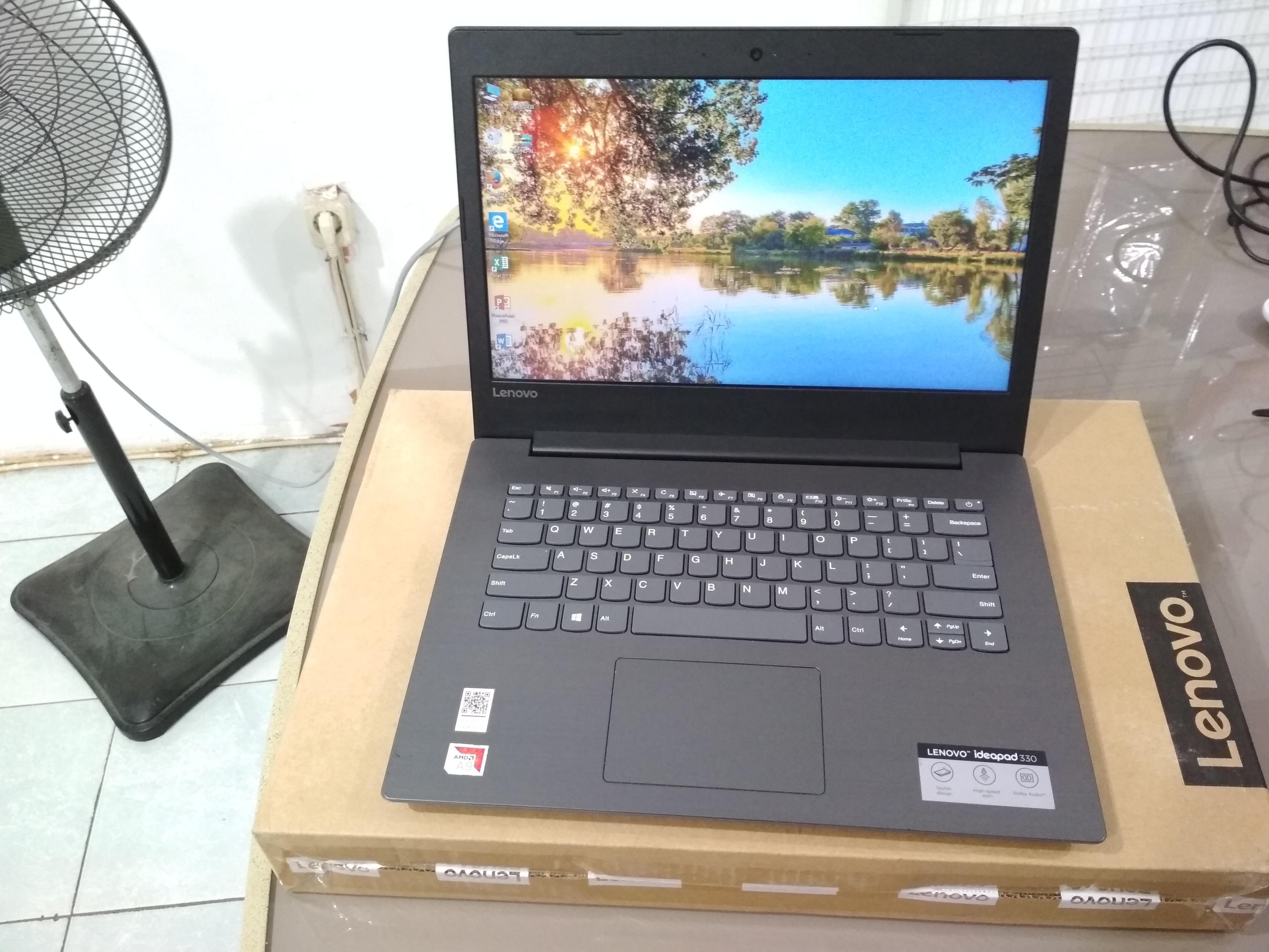 Laptop Lenovo Ideapad 330 Amd A9 9425 Siap Pakai Jual Beli Laptop Bekas Surabaya Sidoarjo